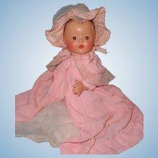 "11"" Dream Baby Bent Limb Composition Baby Doll ~ Factory Original"