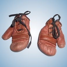 """Authentic Effanbee Candy Kid """"The Champ"""" Composition Boxing Gloves"""