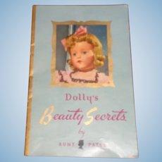 Effanbee Dolly's Beauty Secrets by Aunt Patsy Booklet