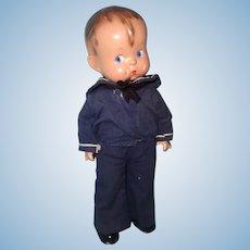 Effanbee Skippy Sailor Composition Doll ~ Patsys Boyfriend