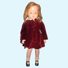 """Factory Original 26"""" Patsy Ruth Composition Doll by Effanbee ~ ADORABLE~ Think XMAS"""
