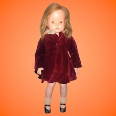 "Factory Original 26"" Patsy Ruth Composition Doll by Effanbee ~ ADORABLE~ Think XMAS"