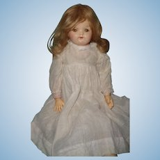 Effanbee Ball Jointed and Leather Body Composition Doll ~ C1910s TLC