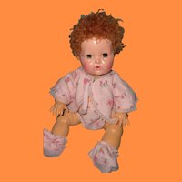 """Adorable Dy-Dee 4pc baby outfit for 11"""" Doll"""