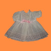 """Authentic Effanbee Dy-Dee Dress for 15"""" Baby Doll"""