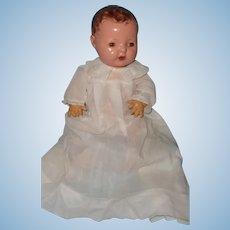 "Effanbee Dy-Dee Baby Gown w/ Bonus TLC Silk Christening Gown for 15"" Baby Doll"