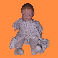 Early Composition and Cloth Molded Hair Baby Doll