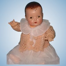 """Effanbee Dy-Dee Lou 20"""" Mold 1 Baby Doll ~ GIFT Giving Condition"""