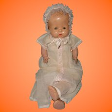 Rare Large Buttercup Composition Baby Doll by Horsman ~ Straight Leg Version