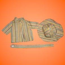 "Factory 3 Pc Coat Set for 12"" Composition Doll"