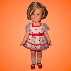 Pretty Shirley Temple Stand Up and Cheer Doll ~1972