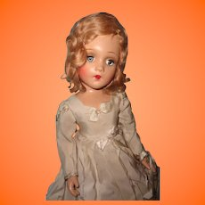"Madame Alexander 21"" Portrait Doll ~ Factory Original ~ Composition Beauty"