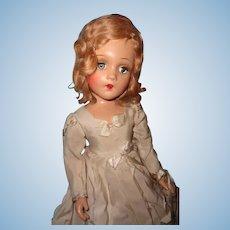 "Madame Alexander 21"" Portrait Doll ~ Factory Original ~ Composition Beauty"