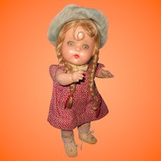 Very Cute Jo Jo Composition Doll by Horsman