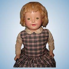 """25"""" Schoolgirl Composition Mama Doll ~ Cutie"""