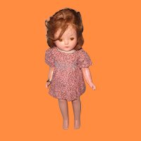 "Effanbee Patricia 15"" Composition Doll ~ TLC Parts Repair"