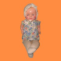"Hug Me Kiddie Pal 20""  Composition Baby Doll"