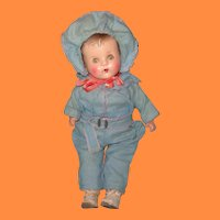 Adorable Snowsuit Composition Baby Doll
