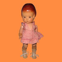 Early Effanbee Patsy Molded Band Composition Doll