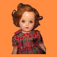 """Pretty 22"""" Composition Mama Doll"""