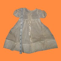 Authentic Effanbee Tagged Dress for Larger Composition Doll