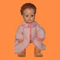 """Pretty in Pink Effanbee Dy-Dee Baby Robe for 11"""" Doll"""