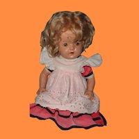"Cute 18"" Composition Girl Doll"
