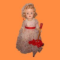 "Beautiful Southern Belle 23"" Composition Mama Doll ~ Factory Original"