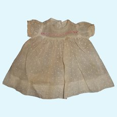 Nice Factory Dress for Compo or Bisque Baby Doll