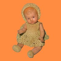 "Factory Original Adorable 7.5"" Composition Baby Doll"