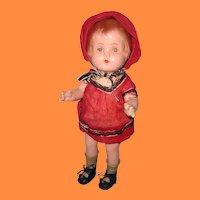 """Sweet 16"""" Molded Hair Composition Doll"""