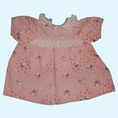 Cute 40s Vintage Dress for Larger Doll