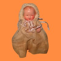 """3"""" Factory Original Bisque Dollhouse Baby Doll ~ Cute"""