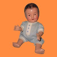 """Cute 13"""" Composition Baby Doll ~ Drink and Wet ~ Pre Dy-Dee"""