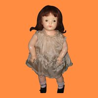 """Early Effanbee Factory Original 24"""" Composition Mama Doll ~ Pretty"""
