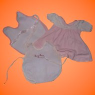 Tiny Tears Factory Doll Clothing Lot (5 pieces)