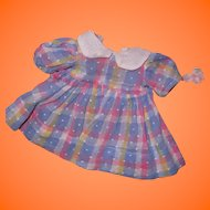 Authentic Effanbee Dress for Composition or Small Dy-Dee Baby Doll