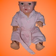 """Adorable Pink Robe for Dy-Dee Or Tiny Tears 15"""" Doll"""