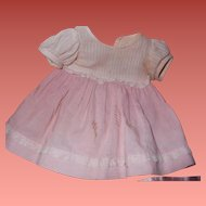 "Factory Dress for Effanbee Dy-Dee Baby Doll 15"" TLC"