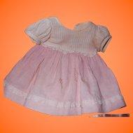 """Factory Dress for Effanbee Dy-Dee Baby Doll 15"""" TLC"""