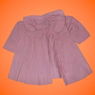 """Factory Pink Coat for Dy-Dee Baby or Tiny Tears Doll 15"""""""