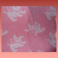 Effanbee Eiderdown Dy-Dee Baby RARE PUPPY Blanket
