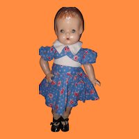 "Effanbee 19"" Patsy Ann Composition Doll"