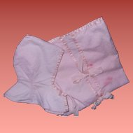 "Effanbee Dy-Dee Baby Pink Bunting fot 15"" Doll"