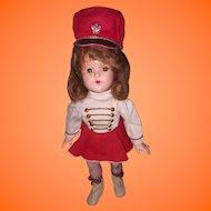 Large Version Effanbee Majorette Composition Doll