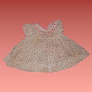 "Authentic Effanbee Dy-Dee Baby Dress for 15"" Doll"