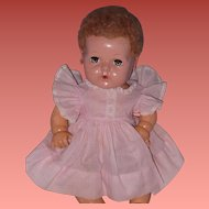 "Effanbee Authentic Dy-Dee Baby Factory Dress for 15"" Doll"