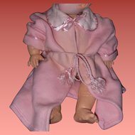 "Adorable Eiderdown Robe for Effanbee 20"" Dy-Dee Baby Doll"