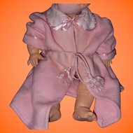 """Adorable Eiderdown Robe for Effanbee 20"""" Dy-Dee Baby Doll"""