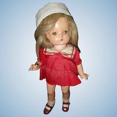 Factory Original Effanbee Patsy Jr. Composition Doll in Sailor Dress